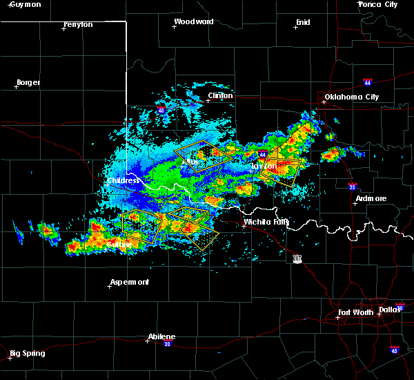 Radar Image for Severe Thunderstorms near Devol, OK at 7/30/2020 5:32 PM CDT