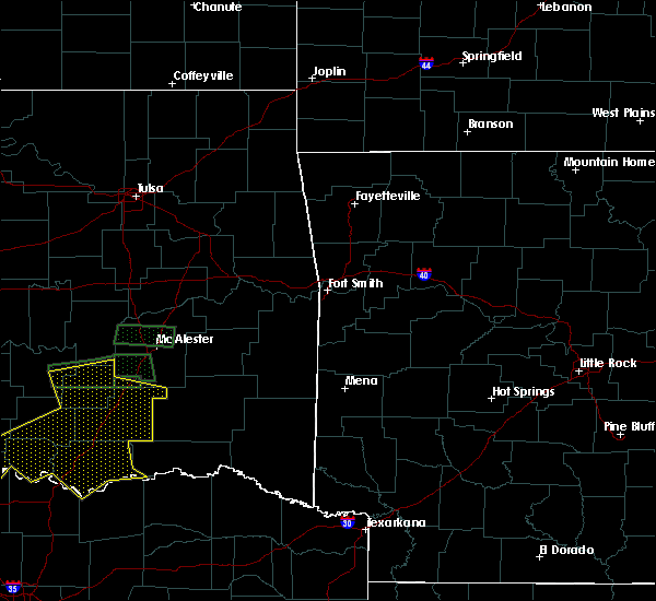Radar Image for Severe Thunderstorms near Antlers, OK at 7/30/2020 7:55 PM CDT