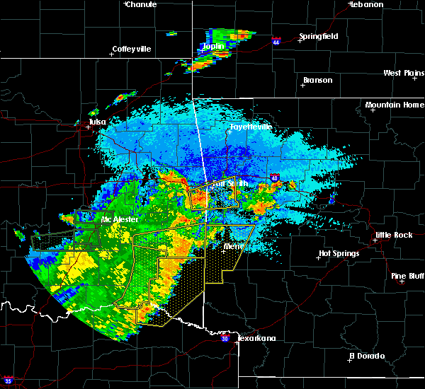 Radar Image for Severe Thunderstorms near Rock Island, OK at 7/30/2020 9:33 PM CDT
