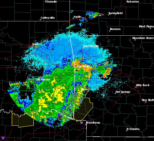 Radar Image for Severe Thunderstorms near Kirby, AR at 7/30/2020 10:16 PM CDT