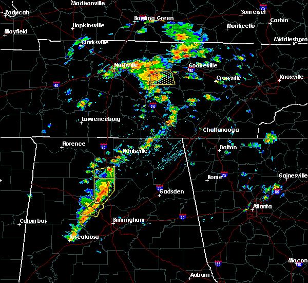 Radar Image for Severe Thunderstorms near Huntsville, AL at 7/31/2020 2:02 PM CDT