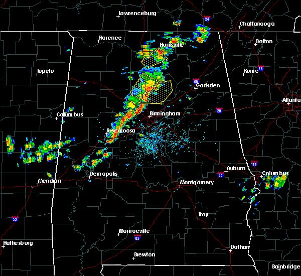 Radar Image for Severe Thunderstorms near Birmingham, AL at 7/31/2020 2:27 PM CDT
