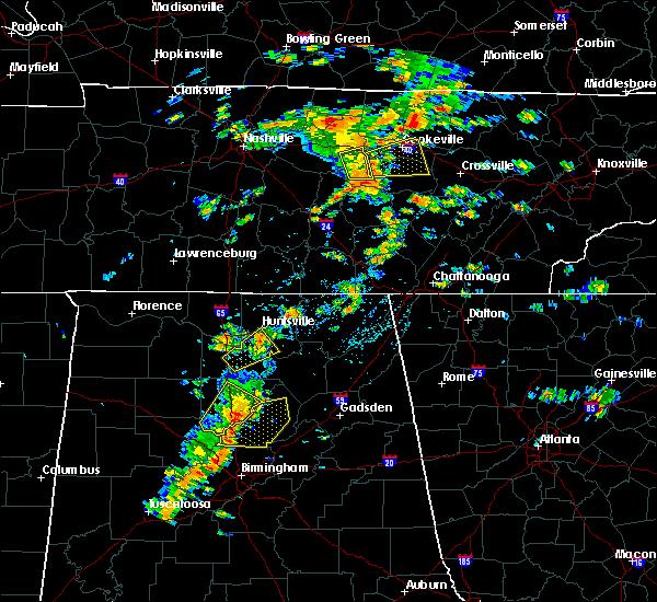 Radar Image for Severe Thunderstorms near Huntsville, AL at 7/31/2020 2:26 PM CDT