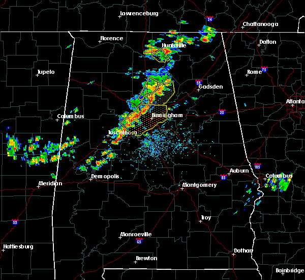 Radar Image for Severe Thunderstorms near Cleveland, AL at 7/31/2020 2:34 PM CDT