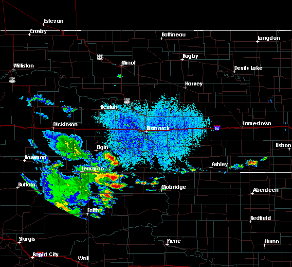 Radar Image for Severe Thunderstorms near Isabel, SD at 7/31/2020 3:51 PM MDT