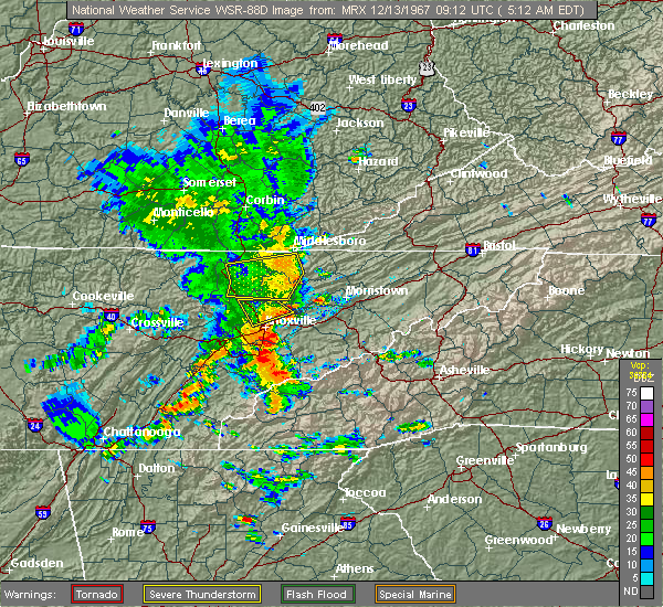 Radar Image for Severe Thunderstorms near Morristown, TN at 7/31/2020 5:58 PM EDT