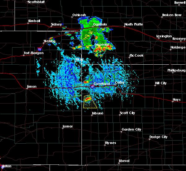 Radar Image for Severe Thunderstorms near Imperial, NE at 7/31/2020 4:40 PM MDT