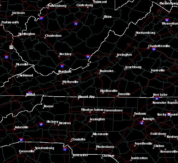 Radar Image for Severe Thunderstorms near Reidsville, NC at 7/31/2020 11:46 PM EDT
