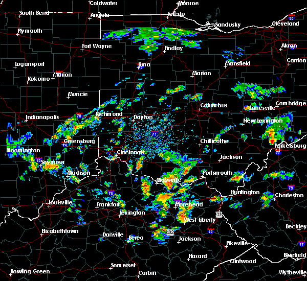 Radar Image for Severe Thunderstorms near Lucasville, OH at 8/1/2020 2:58 PM EDT