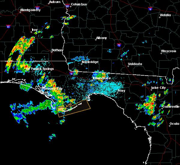 Radar Image for Severe Thunderstorms near Carrabelle, FL at 7/2/2015 12:15 PM EDT