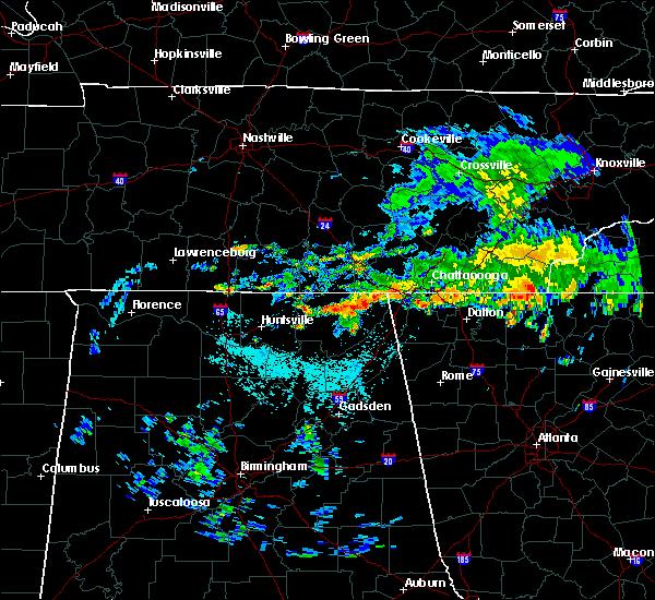 Radar Image for Severe Thunderstorms near Bridgeport, AL at 7/2/2015 11:55 AM CDT