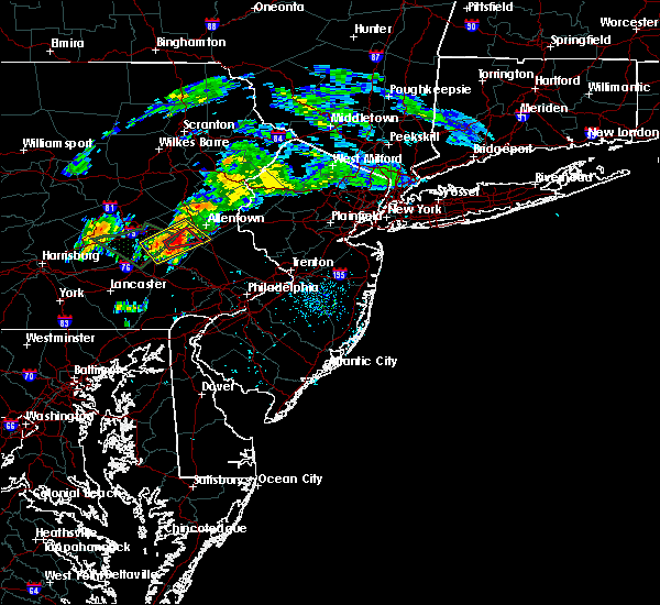 Radar Image for Severe Thunderstorms near Wescosville, PA at 8/2/2020 6:59 AM EDT