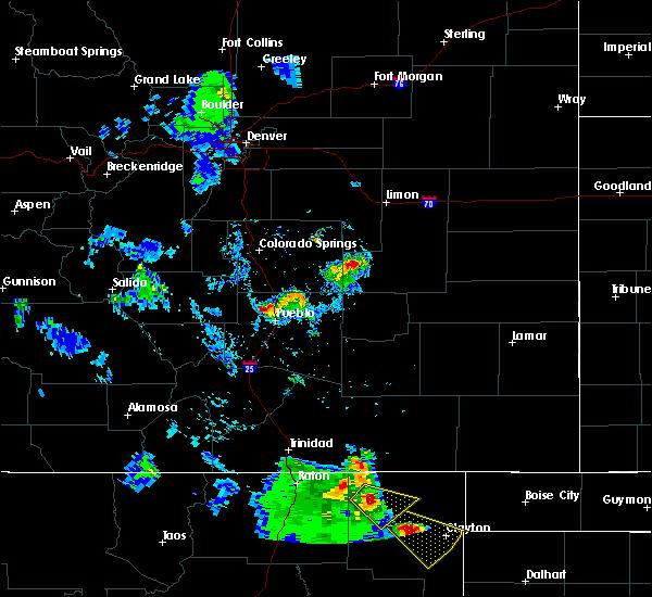 Radar Image for Severe Thunderstorms near Grenville, NM at 8/2/2020 5:49 PM MDT