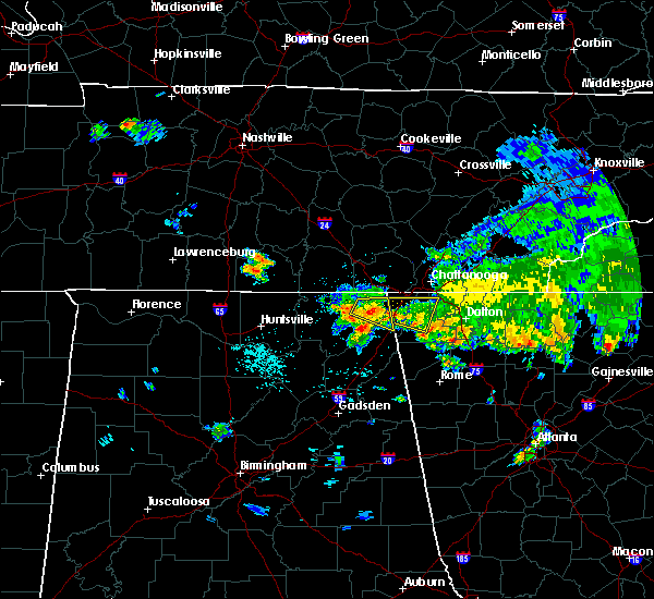 Radar Image for Severe Thunderstorms near Hollywood, AL at 7/2/2015 1:19 PM CDT