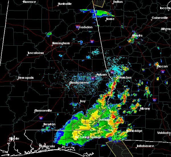 Radar Image for Severe Thunderstorms near Columbus, GA at 7/2/2015 2:29 PM EDT