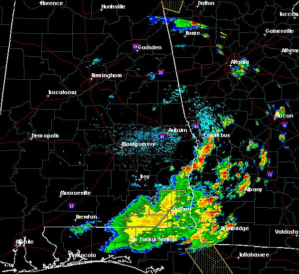 Radar Image for Severe Thunderstorms near Columbus, GA at 7/2/2015 2:44 PM EDT