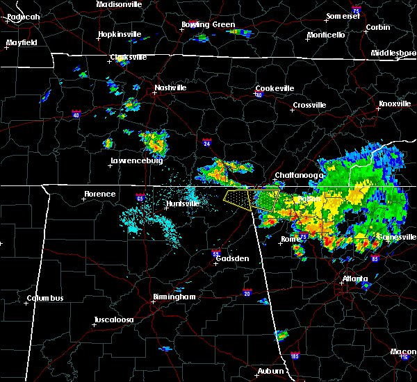 Radar Image for Severe Thunderstorms near Adairsville, GA at 7/2/2015 3:14 PM EDT