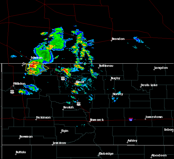 Radar Image for Severe Thunderstorms near Noonan, ND at 8/4/2020 7:01 PM CDT