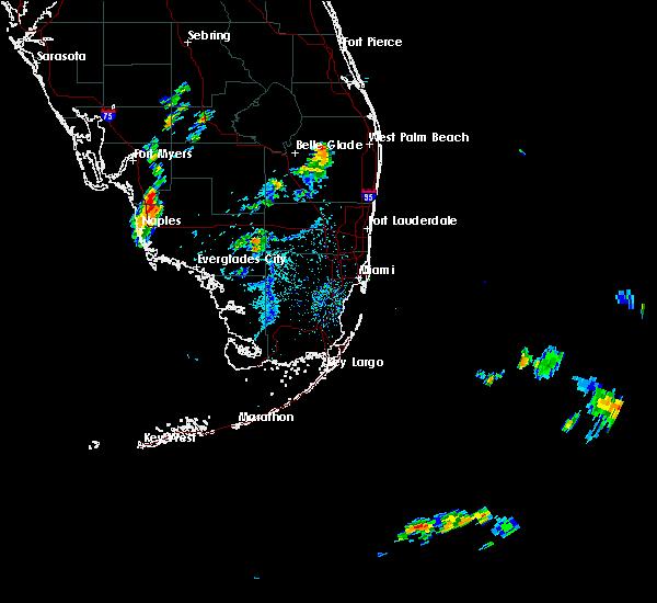 Radar Image for Severe Thunderstorms near Vineyards, FL at 7/2/2015 4:56 PM EDT