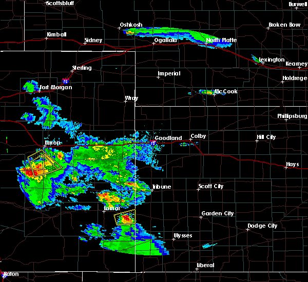 Radar Image for Severe Thunderstorms near Holly, CO at 8/4/2020 7:57 PM MDT