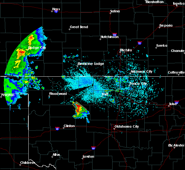 Radar Image for Severe Thunderstorms near Canton, OK at 8/5/2020 12:16 AM CDT