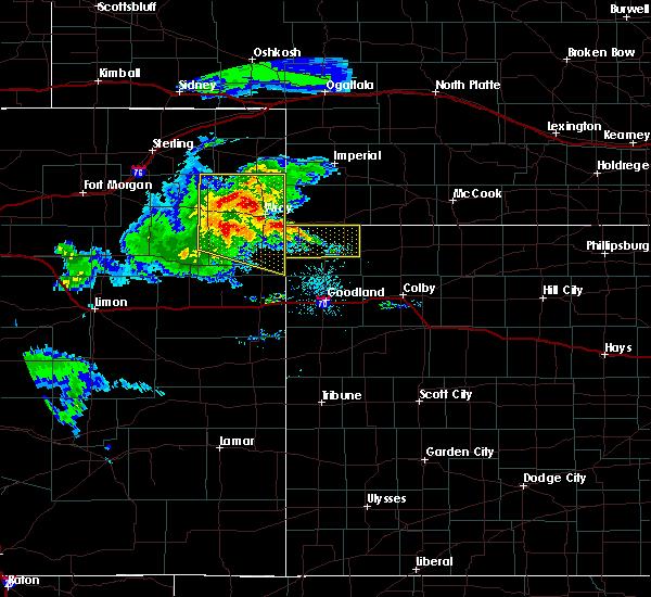 Radar Image for Severe Thunderstorms near Bird City, KS at 8/5/2020 8:02 PM CDT