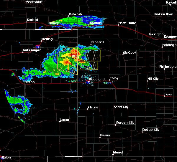Radar Image for Severe Thunderstorms near Bird City, KS at 8/5/2020 8:24 PM CDT