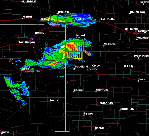 Radar Image for Severe Thunderstorms near Bird City, KS at 8/5/2020 8:53 PM CDT
