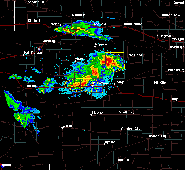 Radar Image for Severe Thunderstorms near Palisade, NE at 8/5/2020 9:38 PM CDT