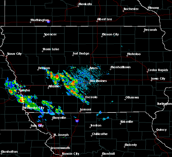 Radar Image for Severe Thunderstorms near Bagley, IA at 8/6/2020 11:14 AM CDT
