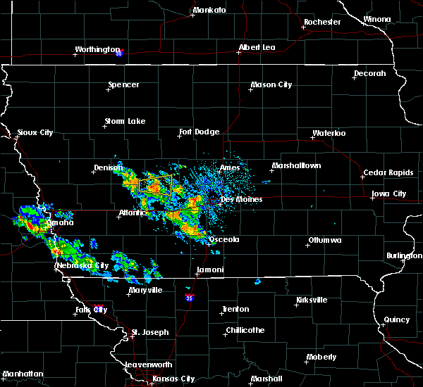Radar Image for Severe Thunderstorms near Bagley, IA at 8/6/2020 11:32 AM CDT