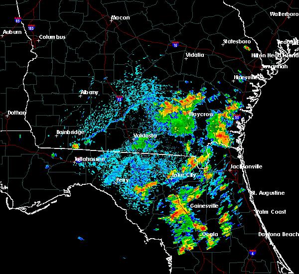 Radar Image for Severe Thunderstorms near Denton, GA at 8/6/2020 4:09 PM EDT