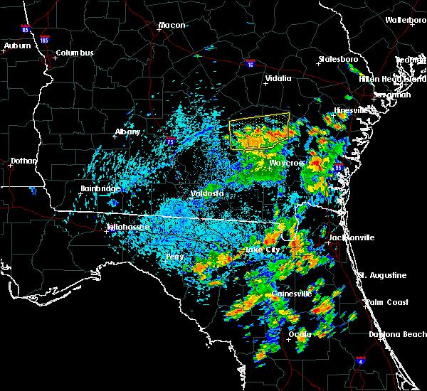 Radar Image for Severe Thunderstorms near Denton, GA at 8/6/2020 4:25 PM EDT