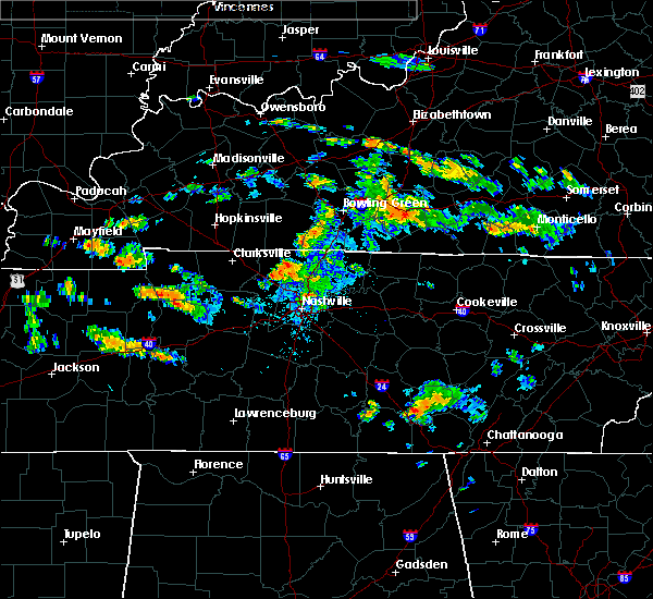 Radar Image for Severe Thunderstorms near Glasgow, KY at 7/2/2015 4:56 PM CDT