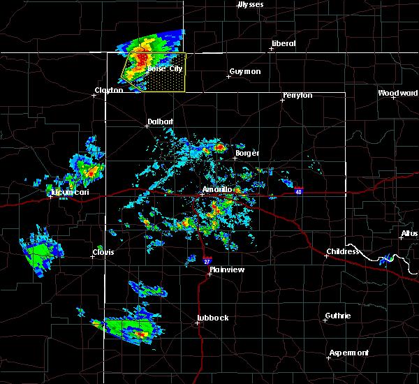 Radar Image for Severe Thunderstorms near Boise City, OK at 8/6/2020 5:47 PM CDT