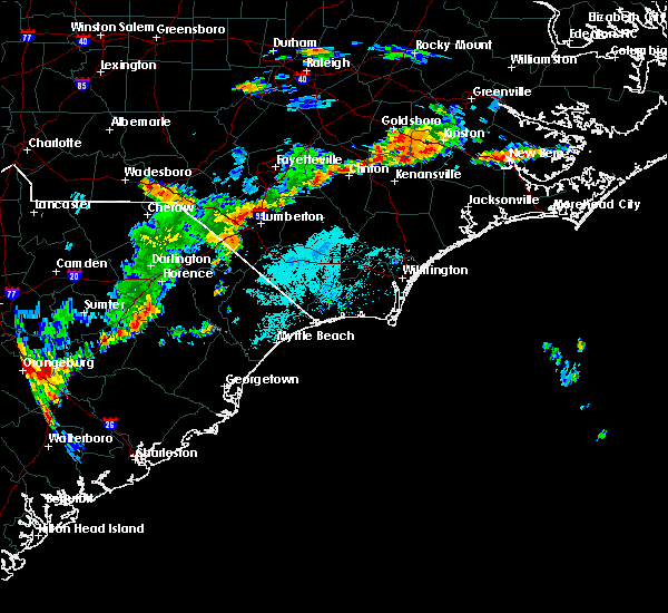 Radar Image for Severe Thunderstorms near Barker Ten Mile, NC at 8/7/2020 7:01 PM EDT