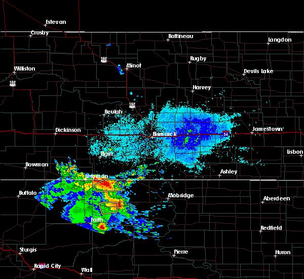 Radar Image for Severe Thunderstorms near McIntosh, SD at 8/8/2020 5:02 AM MDT