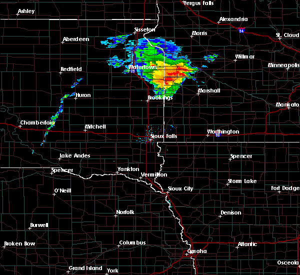 Radar Image for Severe Thunderstorms near Clarkfield, MN at 8/8/2020 12:48 PM CDT