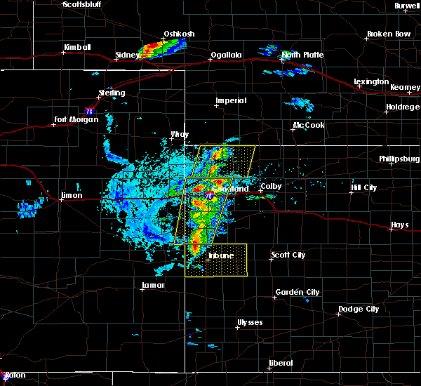 Radar Image for Severe Thunderstorms near Bird City, KS at 8/8/2020 6:21 PM CDT
