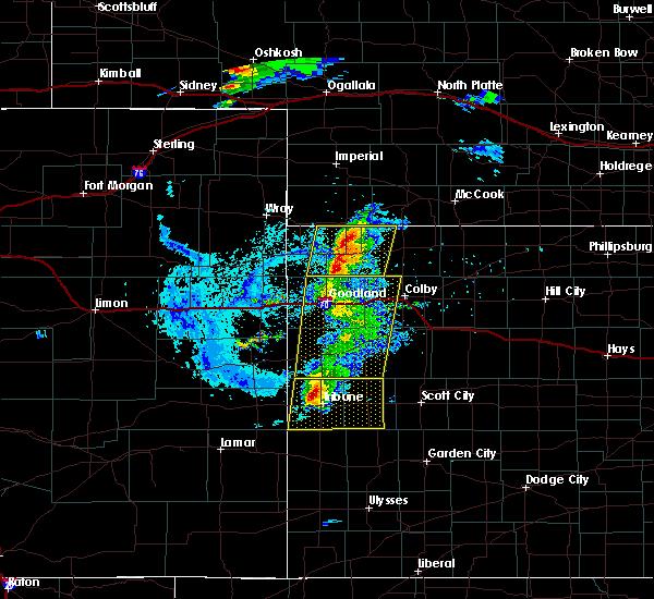 Radar Image for Severe Thunderstorms near Bird City, KS at 8/8/2020 6:52 PM CDT