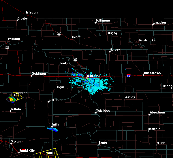 Radar Image for Severe Thunderstorms near Bowman, ND at 8/8/2020 8:07 PM MDT