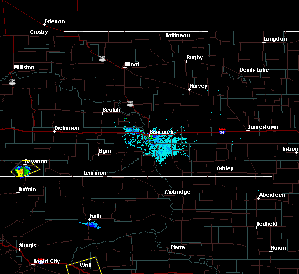 Radar Image for Severe Thunderstorms near Bowman, ND at 8/8/2020 8:16 PM MDT