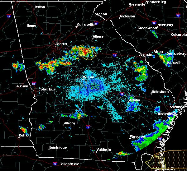 Radar Image for Severe Thunderstorms near Buckhead, GA at 8/9/2020 9:28 PM EDT