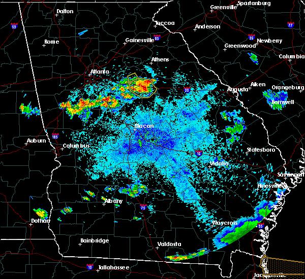 Radar Image for Severe Thunderstorms near Buckhead, GA at 8/9/2020 9:48 PM EDT