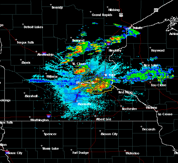 Radar Image for Severe Thunderstorms near Lakeville, MN at 8/10/2020 2:48 AM CDT