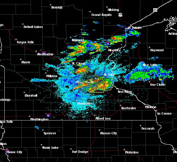 Radar Image for Severe Thunderstorms near Albertville, MN at 8/10/2020 2:53 AM CDT