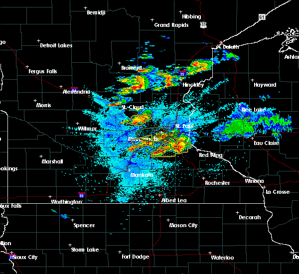Radar Image for Severe Thunderstorms near Prior Lake, MN at 8/10/2020 3:02 AM CDT