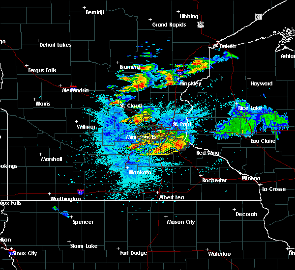 Radar Image for Severe Thunderstorms near Greenfield, MN at 8/10/2020 3:09 AM CDT
