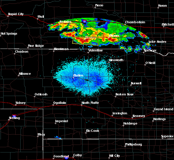 Radar Image for Severe Thunderstorms near Mission, SD at 8/10/2020 4:07 AM CDT