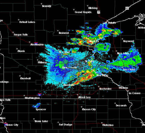 Radar Image for Severe Thunderstorms near Red Wing, MN at 8/10/2020 4:13 AM CDT